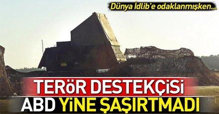Terör destekçisi ABDden PKKya dev destek