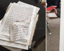 PYDli teröristler cami bastı Kuran-ı Kerim yırttı