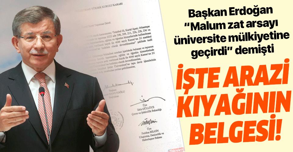 Başkan Erdoğan dikkat çekmişti! İşte belgeleriyle Şehir Üniversitesi'ndeki tezgah!