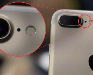 Kamera yanındaki delikler bakın ne işe yarıyor!