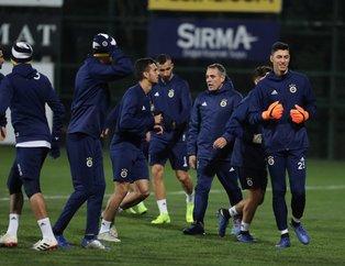 Fenerbahçe'nin BB Erzurumspor maçı ilk 11'i belli oldu! Ersun Yanal kadroyu belirledi