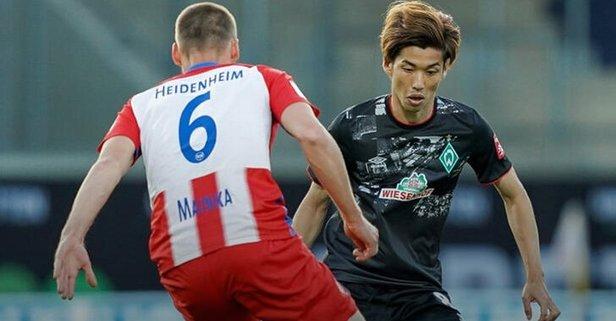 Werder Bremen son anda lige tutundu
