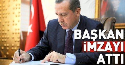 Cumhurbaşkanı Erdoğan imzaladı! Yeni kurulan üniversitelere kadro...