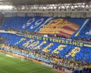 Fenerbahçe taraftarından ince mesaj