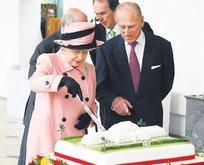 Kraliçe'ye pasta!