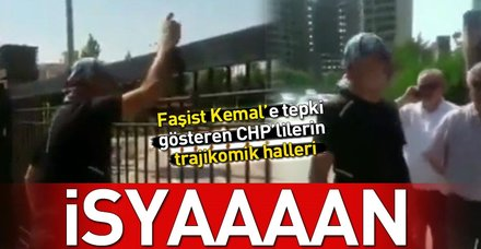 Parti önünde Kemal Kılıçdaroğlu'na isyan eden CHP'li