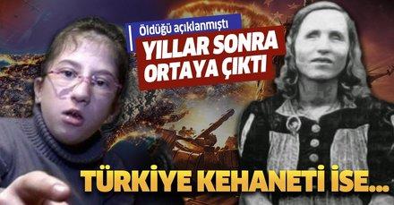 Baba Vanga'nın varisi Kaede'nin kehanetleri kan dondurdu! Türkiye kehaneti ise...