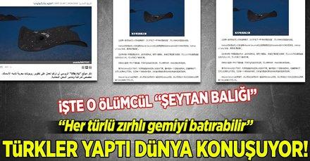 Türk yağımı Silahlı İnsansız Deniz Aracı 'Wattozz' tüm dünyada yankı uyandırdı