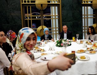 Erdoğandan Külliyede gençlere sahur daveti