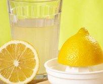 İşte limon suyundaki sağlık mucizesi!