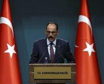 Türkiye iftira kampanyalarına prim vermeyecektir