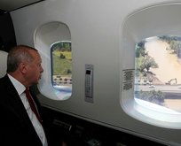 Başkan Erdoğandan Orduda ziyaret