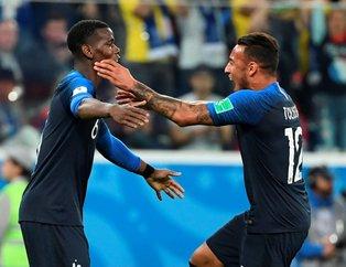 2018 FIFA Dünya Kupası'nda ilk finalist Fransa!