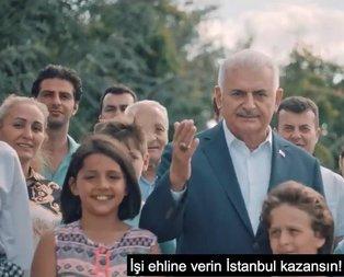 Binali Yıldırım paylaştı: İşi ehline verin İstanbul kazansın