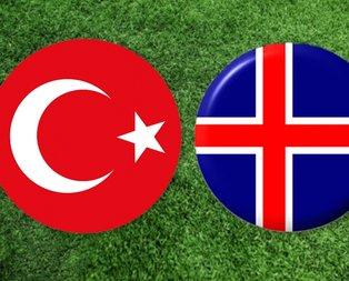 Türkiye İzlanda maçı ne zaman oynanacak?