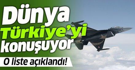Dünya Türkiye'yi konuşuyor! Ortadoğu'nun en güçlü orduları belli oldu! Listede Türkiye'de var