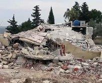 İşte İdlib'de askerlerimizin şehit edildiği yer!