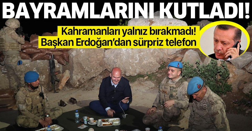 Son dakika: Başkan Erdoğan askerlerin bayramını kutladı