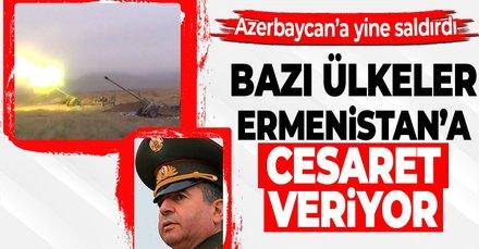 Ermenistan Azerbaycan mevzilerine yine saldırdı