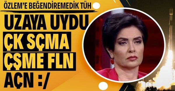 Halk TV Sunucusu Özlem Gürses şaşırtmadı: Türksat 5A uydusunun uzaya gönderilmesi yapay gündem' - Takvim