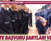 POMEM 25. dönem polis alımı başvuru şartları neler?