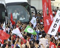 Muharrem İnce'nin Sancaktepe Mitingi'ne HDP'li akını