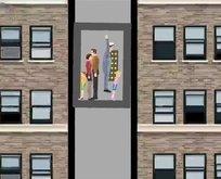 Düşen asansörden nasıl sağ kurtuluruz?