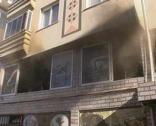 İstanbul'da spor salonunda yangın paniği
