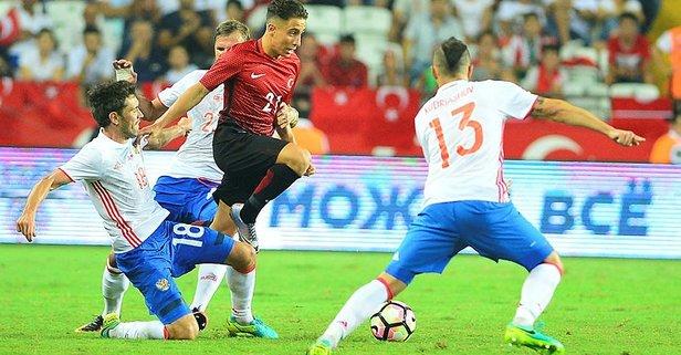 Türkiye Rusya maçı saat kaçta? 2018 UEFA Uluslar Ligi B ligi maçı hangi kanalda?