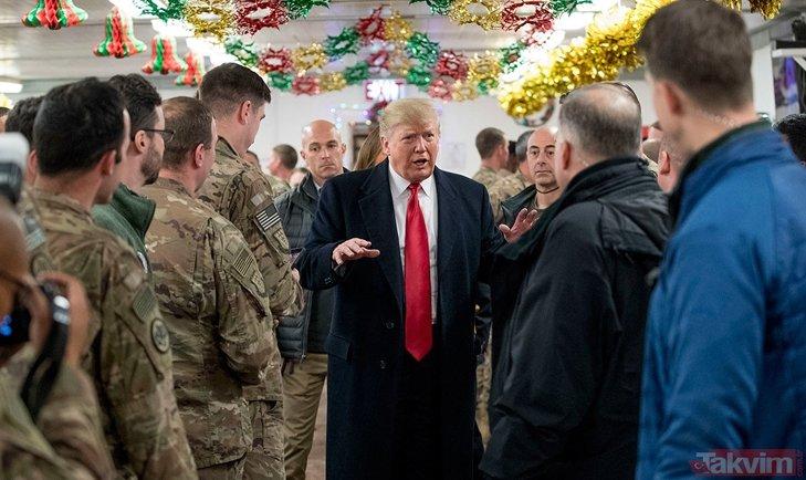 ABD Başkanı Donald Trump'ta ziyaret etmişti! İran'ın Erbil'de vurduğu ABD üssü yerle bir oldu...