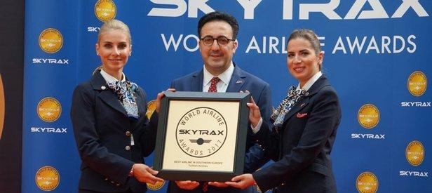 THY 2017 Skytrax Ödülleri'nde 4 kategoride ödül aldı