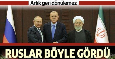 Rus basını Ankara'daki kritik zirveyi böyle gördü: Artık geri dönülemez