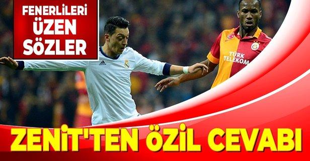 Zenit'ten Fenerlileri kızdıran Özil paylaşımı! Galatasaray...