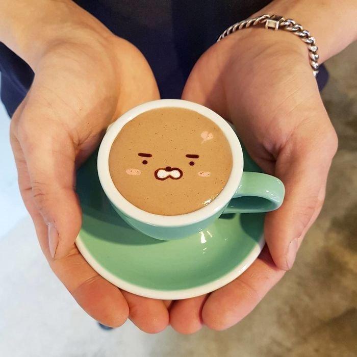 Bu kahveleri içmeye kıyamazsınız