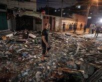 İsrail'den Filistin'e korkunç saldırılar! Şehit sayısı...