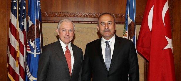 Çavuşoğlu ABD'li bakan ile FETÖ elebaşının iadesini görüştü