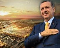 İstanbul Havalimanı Times Meydanı'nda