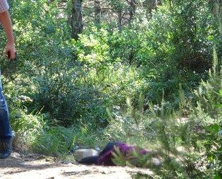 Aydos Ormanı'nda vahşi kadın cinayeti!
