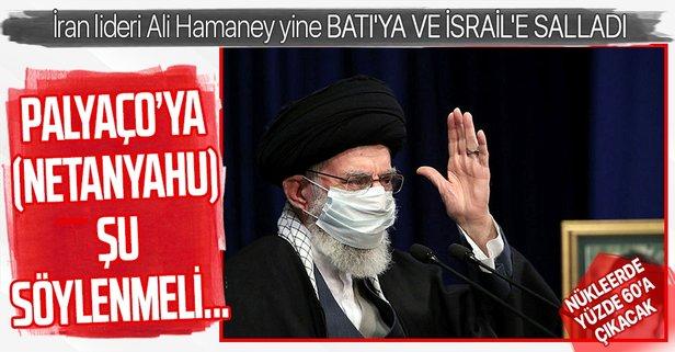 Hamaney, yine Batı'ya ve İsrail'e meydan okudu