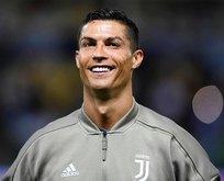 Ronaldo suskun kaldı oğlu gol şov yaptı