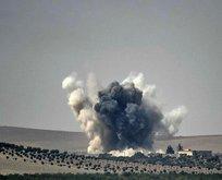 Türk jetleri Afrinde Esed yanlılarını vuruyor!
