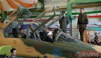İşte İran'ın yeni savaş uçağı: Kevser