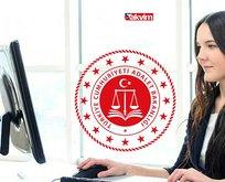 Adalet Bakanlığı 25 sözleşmeli personel alımı başladı!