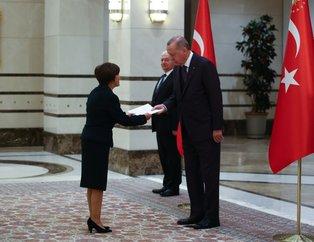 Ekvator Büyükelçisi Puma Puma, Erdoğan'a güven mektubu sundu