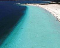 NASA'dan dikkat çeken Salda Gölü paylaşımı!