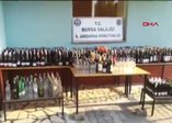 Bursa'da 436 litre sahte içki ele geçirildi