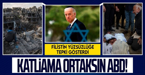 Filistin'den ABD'ye tepki