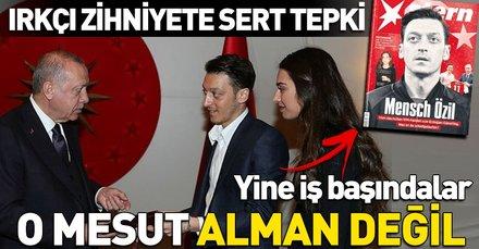 Arsenal'de forma giyen Mesut Özil'in Başkan Erdoğan'ı düğününe davet etmesi üzerine Almanlar yine saldırıya geçti