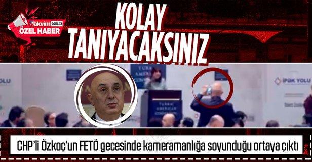 CHP'li Özkoç'un FETÖ gecesine katıldığı yeni görüntüsü