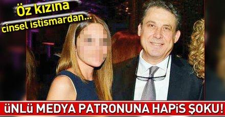 Öz kızına 7 yıl boyunca cinsel istismarda bulunan Fatih Oflaza 19 yıl hapis